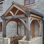 Oak porch
