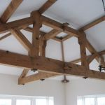 Roof trusses for a sun room